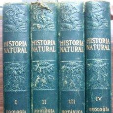 Enciclopedias: HISTORIA NATURAL - VIDA DE LOS ANIMALES, DE LAS PLANTAS Y DE LA TIERRA - 4 TOMOS. Lote 147739494