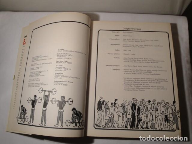 Enciclopedias: Enciclopedia completa de Ejercicios. Diagram Group. Año 1982. Estado muy bueno. - Foto 2 - 147779118