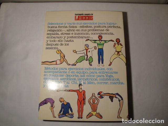 Enciclopedias: Enciclopedia completa de Ejercicios. Diagram Group. Año 1982. Estado muy bueno. - Foto 6 - 147779118