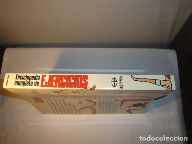 Enciclopedias: Enciclopedia completa de Ejercicios. Diagram Group. Año 1982. Estado muy bueno. - Foto 7 - 147779118