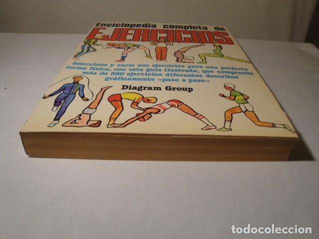 Enciclopedias: Enciclopedia completa de Ejercicios. Diagram Group. Año 1982. Estado muy bueno. - Foto 8 - 147779118