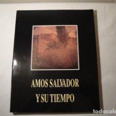 Enciclopedias: AMÓS SALVADOR Y SU TIEMPO. 1º CENTENARIO FÁBRICA TABACOS DE LOGROÑO. AÑO 1990. NUEVO.. Lote 147928618