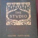 Enciclopedias: BJS.THE STUDIO AN ILLUSTRATED MAGAZINE OF FINE AND APPLIED ART.VOLUME 49.BRUMART TULIBRERIA.. Lote 150963906