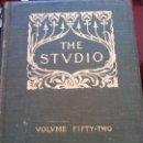 Enciclopedias: BJS.THE STUDIO AN ILLUSTRATED MAGAZINE OF FINE AND APPLIED ART.VOLUME 52.BRUMART TULIBRERIA.. Lote 150964674
