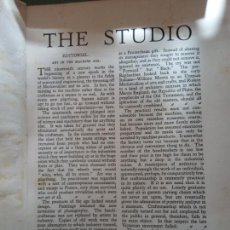Enciclopedias: BJS.THE STUDIO AN ILLUSTRATED MAGAZINE OF FINE AND APPLIED ART.VOLUME 96... Lote 150967870