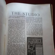 Enciclopedias: BJS.THE STUDIO AN ILLUSTRATED MAGAZINE OF FINE AND APPLIED ART.VOLUME 95... Lote 150968098