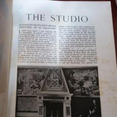 Enciclopedias: BJS.THE STUDIO AN ILLUSTRATED MAGAZINE OF FINE AND APPLIED ART.VOLUME 94... Lote 150968298