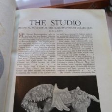 Enciclopedias: BJS.THE STUDIO AN ILLUSTRATED MAGAZINE OF FINE AND APPLIED ART.VOLUME 97... Lote 150968966