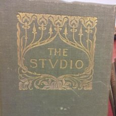 Enciclopedias: BJS.THE STUDIO AN ILLUSTRATED MAGAZINE OF FINE AND APPLIED ART.VOLUME 41... Lote 150971622
