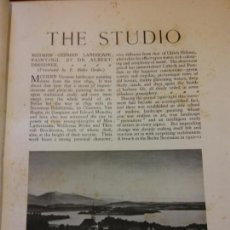 Enciclopedias: BJS.THE STUDIO AN ILLUSTRATED MAGAZINE OF FINE AND APPLIED ART.VOLUME 92.BRUMART TU LIBRERIA.. Lote 150972046