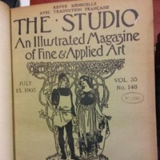 Enciclopedias: BJS.THE STUDIO AN ILLUSTRATED MAGAZINE OF FINE AND APPLIED ART.VOLUME 35.BRUMART TU LIBRERIA.. Lote 151052842