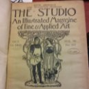 Enciclopedias: BJS.THE STUDIO AN ILLUSTRATED MAGAZINE OF FINE AND APPLIED ART.VOLUME 36... Lote 151053046