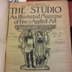 Enciclopedias: BJS.THE STUDIO AN ILLUSTRATED MAGAZINE OF FINE AND APPLIED ART.VOLUME 36.BRUMART TU LIBRERIA.. Lote 151053046