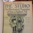 Enciclopedias: BJS.THE STUDIO AN ILLUSTRATED MAGAZINE OF FINE AND APPLIED ART.VOLUME 34... Lote 151053218