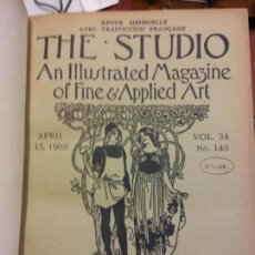 Enciclopedias: BJS.THE STUDIO AN ILLUSTRATED MAGAZINE OF FINE AND APPLIED ART.VOLUME 34.BRUMART TU LIBRERIA.. Lote 151053218