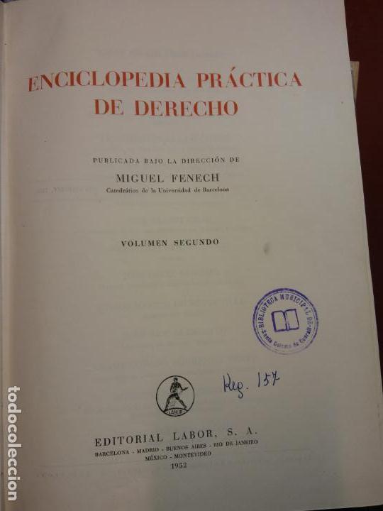 STQ.ENCICLOPEDIA PRACTICA DE DERECHO.EDT, LABOR.. (Libros Nuevos - Diccionarios y Enciclopedias - Enciclopedias)