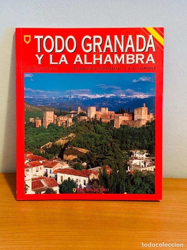 LIBRO - TODO GRANADA Y LA ALHAMBRA (Libros Nuevos - Diccionarios y Enciclopedias - Enciclopedias)