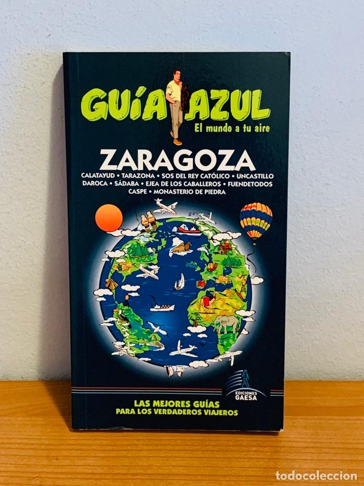 """LIBRO - GUÍA AZUL """"ZARAGOZA"""" (Libros Nuevos - Diccionarios y Enciclopedias - Enciclopedias)"""