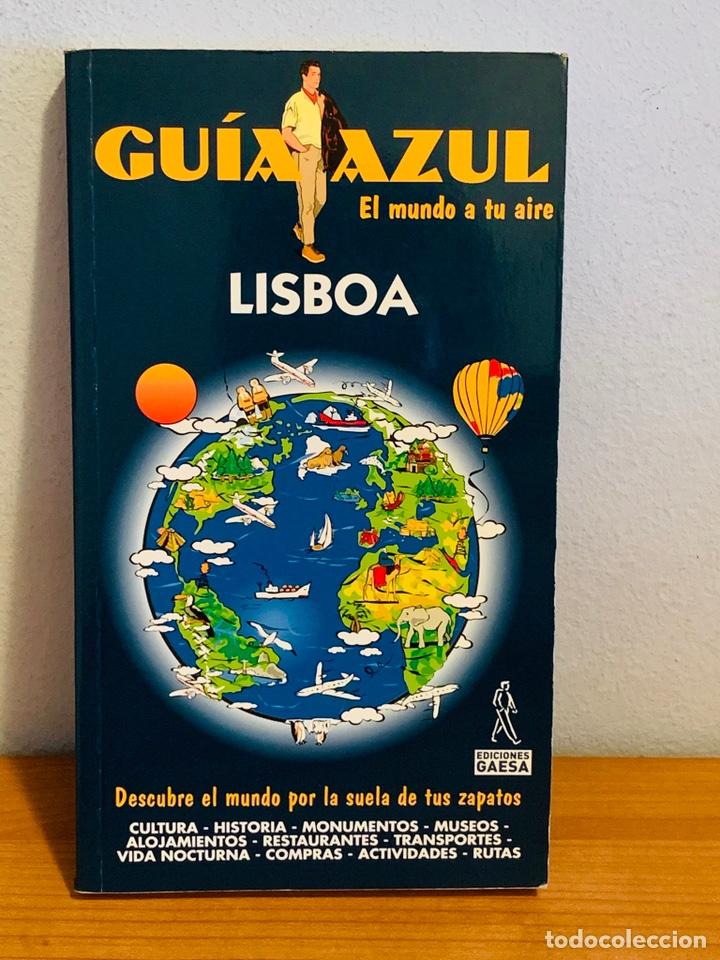 """LIBRO - GUÍA AZUL """"LISBOA"""" (Libros Nuevos - Diccionarios y Enciclopedias - Enciclopedias)"""
