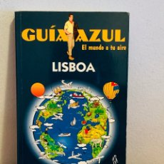 """Enciclopedias: LIBRO - GUÍA AZUL """"LISBOA"""". Lote 151205249"""