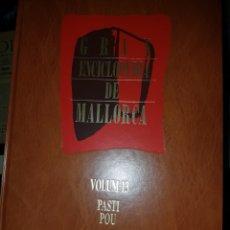 Enciclopedias: GRAN ENCICLOPEDIA DE MALLORCA. Lote 151423584