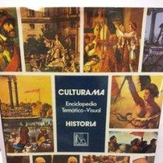 Enciclopedias: BJS.ENCICLOPEDIA TEMATICO-VISUAL.HISTORIA.EDT, DANAE... Lote 153133817