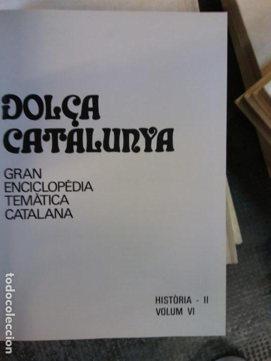 BJS.ENCICLOPEDIA DOLÇA CATALUNYA.HISTORIA. 2 TOMOS.EDT, MATEU.. (Libros Nuevos - Diccionarios y Enciclopedias - Enciclopedias)