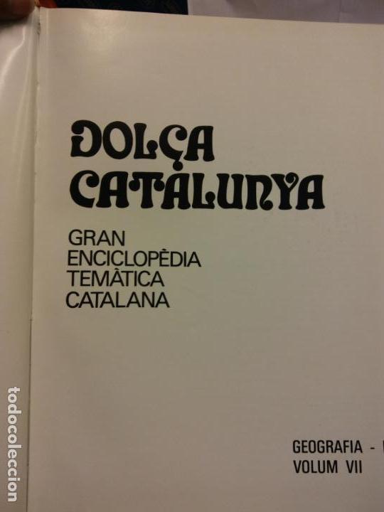 BJS.ENCICLOPEDIA DOLÇA CATALUNYA.GEOGRAFIA. 2 TOMOS.EDT, MATEU.. (Libros Nuevos - Diccionarios y Enciclopedias - Enciclopedias)