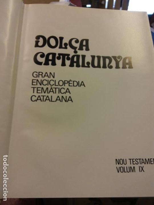 BJS.ENCICLOPEDIA DOLÇA CATALUNYA.NOU TESTAMENT. 2 TOMOS.EDT, MATEU.. (Libros Nuevos - Diccionarios y Enciclopedias - Enciclopedias)