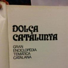 Enciclopedias: BJS.ENCICLOPEDIA DOLÇA CATALUNYA.BIOGRAFIES. 2 TOMOS.EDT, MATEU... Lote 151700578