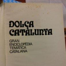Enciclopedias: BJS.ENCICLOPEDIA DOLÇA CATALUNYA.INSTITUCIONS. 2 TOMOS.EDT, MATEU... Lote 151701166