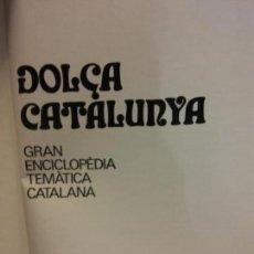 Enciclopedias: BJS.ENCICLOPEDIA DOLÇA CATALUNYA.ELS CATALANS.EDT, MATEU... Lote 151701422