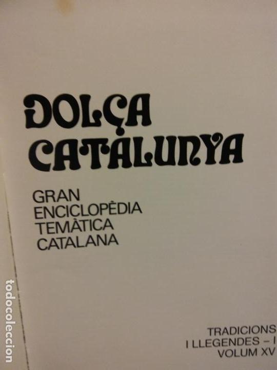 BJS.ENCICLOPEDIA DOLÇA CATALUNYA.TRADICIONS I LLEGENDES.2 TOMOS.EDT, MATEU.. (Libros Nuevos - Diccionarios y Enciclopedias - Enciclopedias)