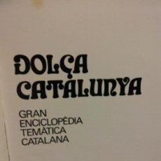Enciclopedias: BJS.ENCICLOPEDIA DOLÇA CATALUNYA.TRADICIONS I LLEGENDES.2 TOMOS.EDT, MATEU... Lote 151702946