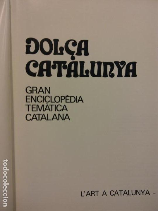 BJS.ENCICLOPEDIA DOLÇA CATALUNYA.L´ART.2 TOMOS.EDT, MATEU.. (Libros Nuevos - Diccionarios y Enciclopedias - Enciclopedias)