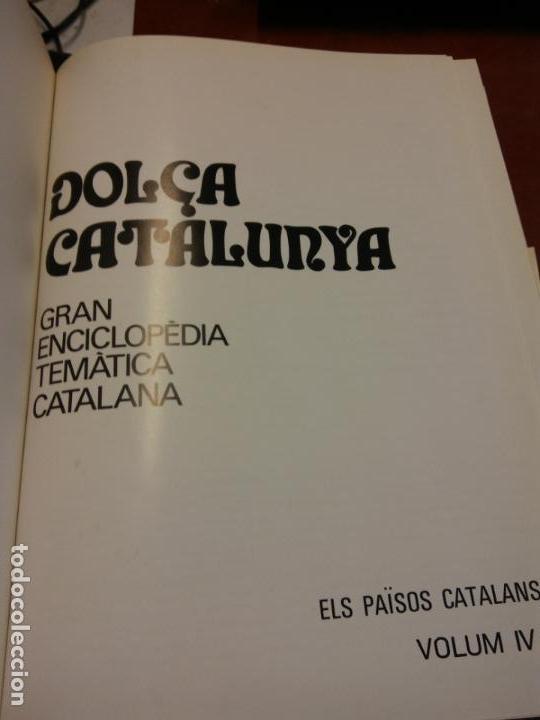 BJS.ENCICLOPEDIA DOLÇA CATALUNYA.ELS PAISOS CATALANS.EDT, MATEU.. (Libros Nuevos - Diccionarios y Enciclopedias - Enciclopedias)