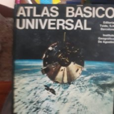 Enciclopedias: EDITORIAL TEIDE S A BARCELONA ATLAS BÁSICO UNIVERSAL. Lote 151846533