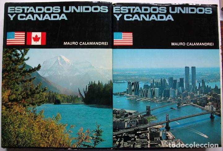 ESTADOS UNIDOS Y CANADA. MAURO CALAMANDREI. 2 TOMOS (Libros Nuevos - Diccionarios y Enciclopedias - Enciclopedias)
