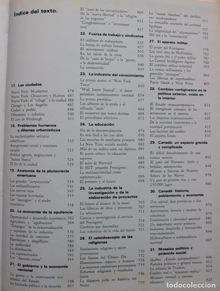 Enciclopedias: ESTADOS UNIDOS Y CANADA. MAURO CALAMANDREI. 2 TOMOS - Foto 5 - 160156318