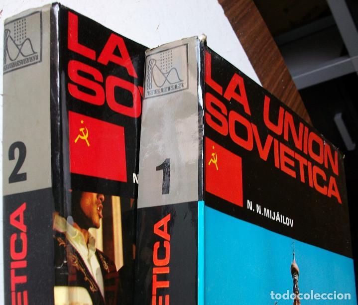 Enciclopedias: LA UNION SOVIETICA. N.M. MIJAILOV 2 TOMOS - Foto 2 - 160157134