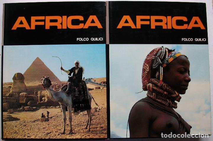 AFRICA. FOLCO QUILICI 2 TOMOS (Libros Nuevos - Diccionarios y Enciclopedias - Enciclopedias)