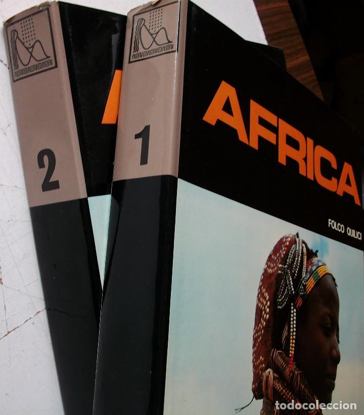 Enciclopedias: AFRICA. FOLCO QUILICI 2 TOMOS - Foto 2 - 160157586