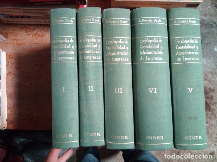 ENCICLOPEDIA DE CONTABILIDAD Y ADMON. DE EMPRESAS A. G. DUCH (Libros Nuevos - Diccionarios y Enciclopedias - Enciclopedias)