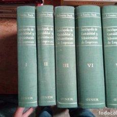 Enciclopedias: ENCICLOPEDIA DE CONTABILIDAD Y ADMON. DE EMPRESAS A. G. DUCH. Lote 162597130