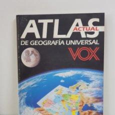 Enciclopedias: ATLAS GEOGRÁFICO UNIVERSAL CON 250 MAPAS 400 DIBUJOS Y FOTOGRAFÍAS Y 150 GRÁFICOS A TODO COLOR. Lote 163050922