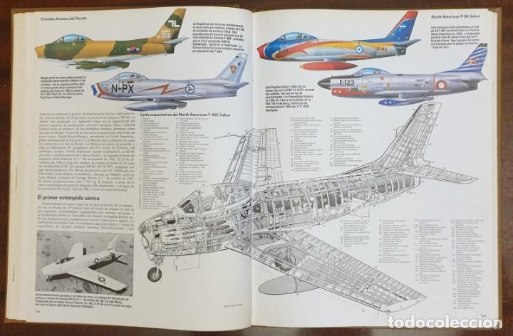 Enciclopedias: Enciclopedia Ilustrada de la Aviación. Editorial Delta. COMPLETA! - Foto 2 - 163599410
