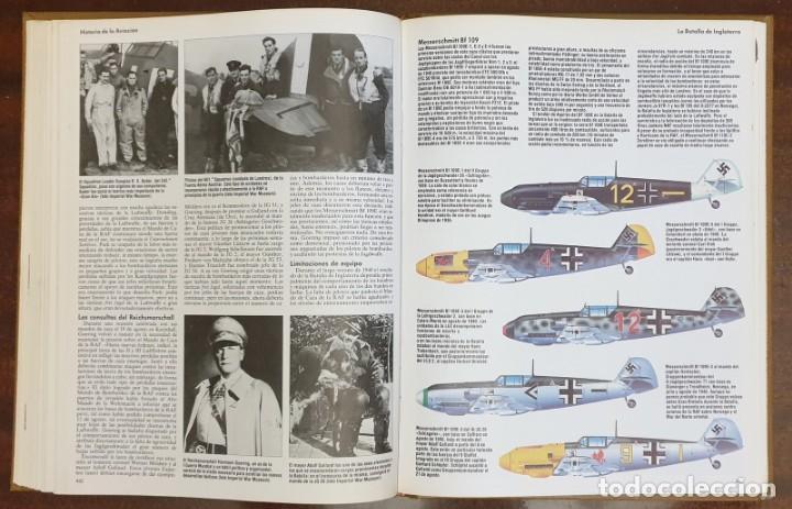 Enciclopedias: Enciclopedia Ilustrada de la Aviación. Editorial Delta. COMPLETA! - Foto 4 - 163599410