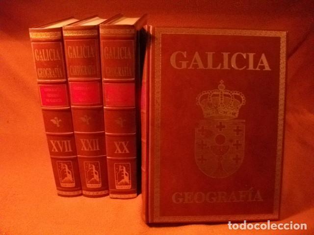 ENCICLOPÈDIA DE LUJO , GEOGRAFÌA DE GALICIA. AL 25% DE SU VALOR (Libros Nuevos - Diccionarios y Enciclopedias - Enciclopedias)