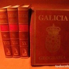 Enciclopedias: ENCICLOPÈDIA DE LUJO , GEOGRAFÌA DE GALICIA. AL 25% DE SU VALOR. Lote 125342523