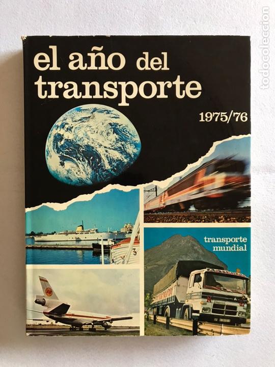 EL AÑO DEL TRANSPORTE. TOMO 1975-1976. EDISPORT. (Libros Nuevos - Diccionarios y Enciclopedias - Enciclopedias)